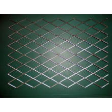 Square Galvanized expanded steel mesh decorative metal mesh