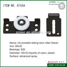 Furniture sliding door wheel roller for cabinet