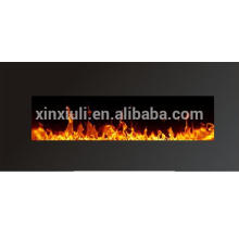 Adjustable flame brightness 750W Electric Fireplace Heater Heat/Fire Flame Smoke Coal Wood Effect