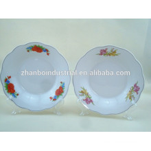 Daily use or promotional soup plate