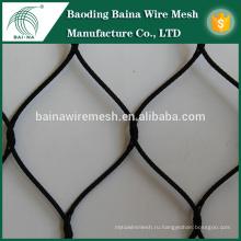 Нержавеющая сталь окисление черный кабель сетка / нержавеющая сталь проволока сетка сетка в Китае