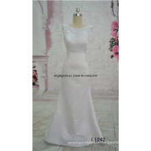 Nach Maß A-Line Brautkleid Tüll Brautkleid