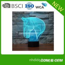 Maufacture Hot selling beautiful usb lamp model 3d table light acrylic night light