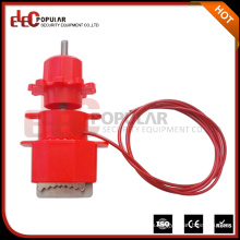 Elecpopular Nuevos Productos 2016 Universal Valve Safety Lockout Devices With Nylon Cable