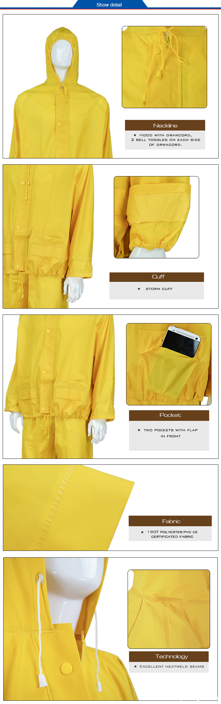 Rainsuit with Pants