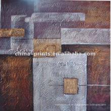 Pintura a óleo abstracta da lona para a decoração Home