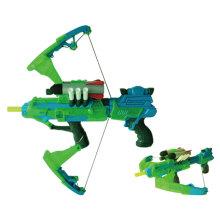 Electric Big Luminous Soft Bullet Light Gun pistola de juguete de deporte