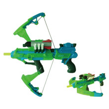 Электрический большой светящийся мягкий пуля света пистолет игрушечный пистолет Gun