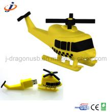 Whirlybird y la forma del helicóptero USB Flash Drive (JT111)