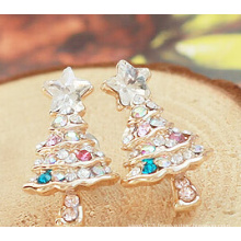 Christmas Jewelry/Christmas Earring/Christmas Tree (XER13369)