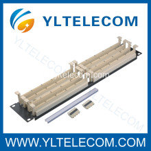 "200 pares 110 Patch Panel 19"" 2U"
