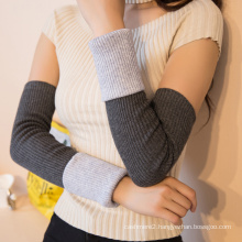 wholesale winter personalized knitted sheep wool fingerless gloves