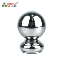 ss304 Stainless Steel Gazing Ball Gate Staircase Decoration Accessories Large Hollow Steel Balls
