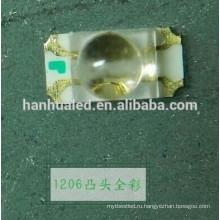 1206 СМД ИК инфракрасный светодиод 940нм 30 градусов Угол обзора детектора дыма