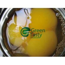 Nuevos cultivos en conserva amarillo melocotón mitad / dados / rebanadas de alta calidad