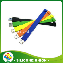 Wholesale Personalized Silicone 1-64GB USB Armband