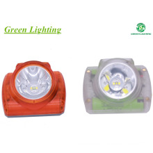 Explosion Proof IP68 Wireless Mining Cap Lamp , Safety Coal Miners Helmet Light Lithium Battery
