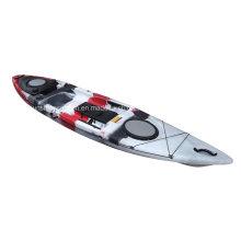 Nuevo diseño de kayak de pesca en barco de canoa de un solo asiento (KS-21)