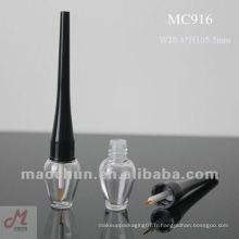 MC916 Bouteille en plastique pour eye-liner liquide