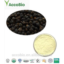 High Quality 100% Natural Certificated Organic Black Pepper Extract Powder