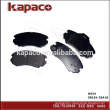 Top Quality Auto Brake Pad for HYUNDAI KIA D924 58101-2EA10