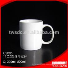 Tazas de cerámica de porcelana fina de Western hotel cena uso