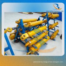 Cilindro hidráulico de la elevación del brazo para la maquinaria de construcción de Egineering de la excavadora