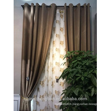 salon decorating model of live room curtain for home/hotel