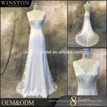 2016 New Arrive Real Picture convidado de casamento vestidos guangzhou
