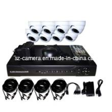 """8CH DVR Kits + 600tvl 1/3 """"Sharp 960h CCD cámaras domo de interior"""