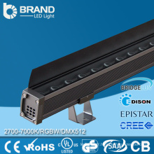 DMX512 Rondelle murale à l'extérieur de l'éclairage DMX Wall Washer LED RVB 9 * 3W Wall Washer