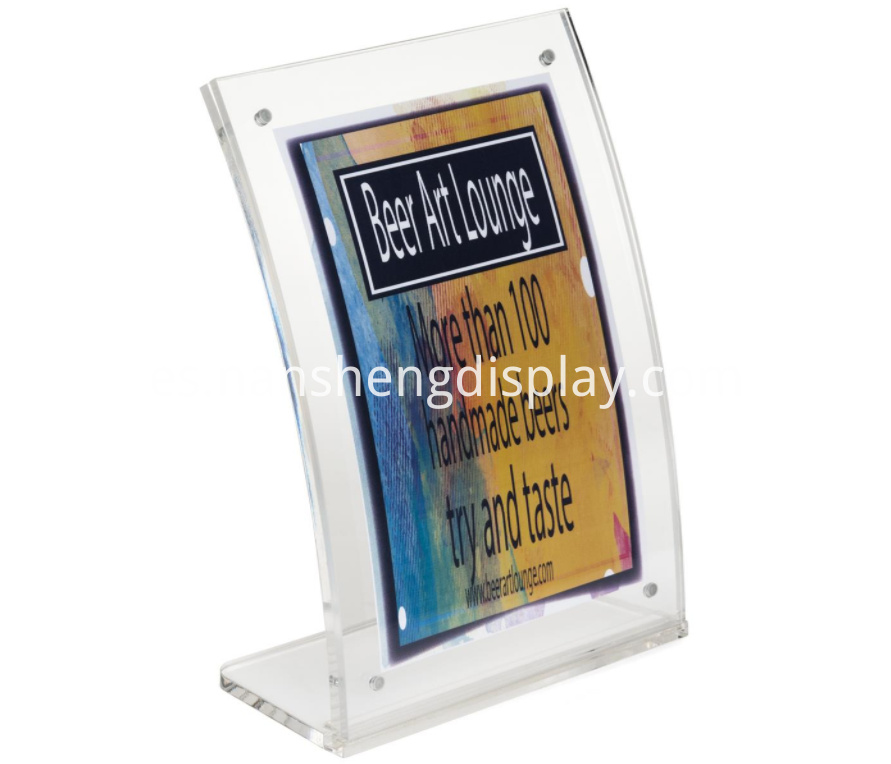 Acrylic Table Picture Display