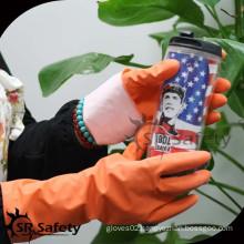 SRSAFETY latex household wash glove manufacturer