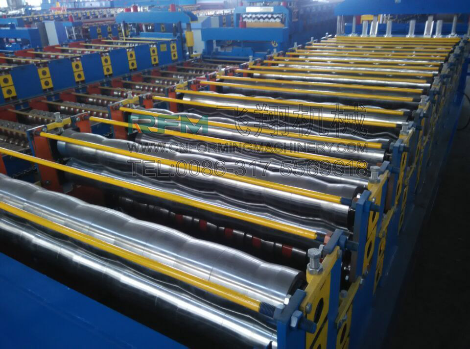 Double Layer Aluminum Roofing Sheet Making Machine