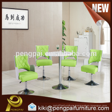 China factory direct sale small meeting table and movable chair