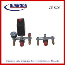 Сборка регулятора воздушного компрессора