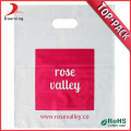 Cheap Price Own Logo Printed Shopping Packaging 100% Biodegradable Customized Die Cut Plastic Bags For Retailer