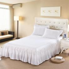 200TC solid color bed skirt