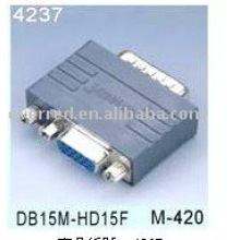 DB15 ADAPTATEUR FEMELLE MALE TO HD15