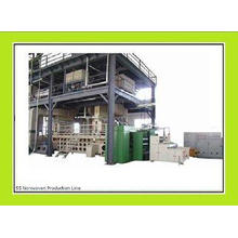 SS / SMS Non Woven Fabric Making Machine , Automatic Spunbo