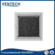Системы отопления, вентиляции и кондиционирования воздуха Решетка для яиц со съемным сердечником из алюминия