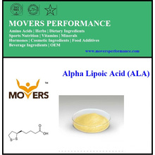Hochwertige reine natürliche Alpha-Liponsäure (ALA)