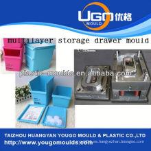2013 Nuevo molde del envase de la pared del hogar y buen molde de la caja de herramientas de la inyección del precio