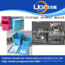 Módulo de recipiente de parede fina de casa nova 2013 e molde de caixa de ferramentas de injeção de bom preço
