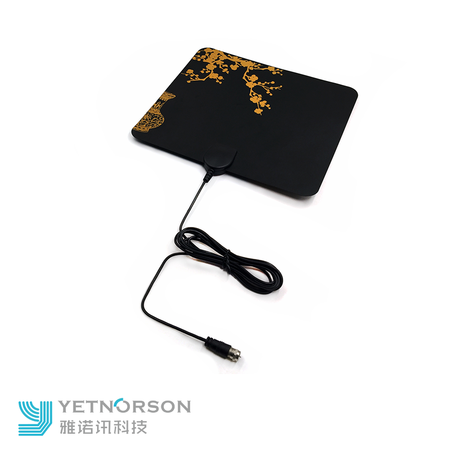 Flat amplified tv antenna 1