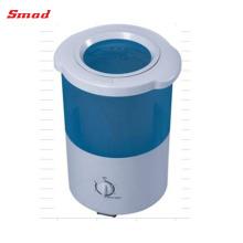 Secador portátil de la ropa de la vuelta de la sola tina de la mini sola tira de la capacidad de 1-2KG Spin Capacity