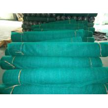 Dark green shade net