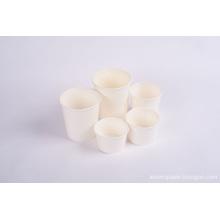 Copos de papel quente simples de alta qualidade