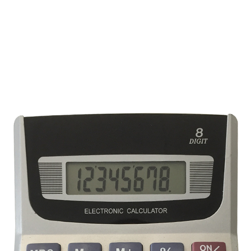 8 Digits Logo Printing Office Desktop Calculator