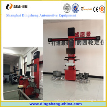 Used Wheel Alignment Machine, 3 D Car Four Wheel Alignment System for Sale